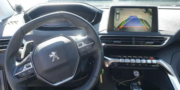 התקנת מערכת מולטימדיה לרכב פיג'ו 3008