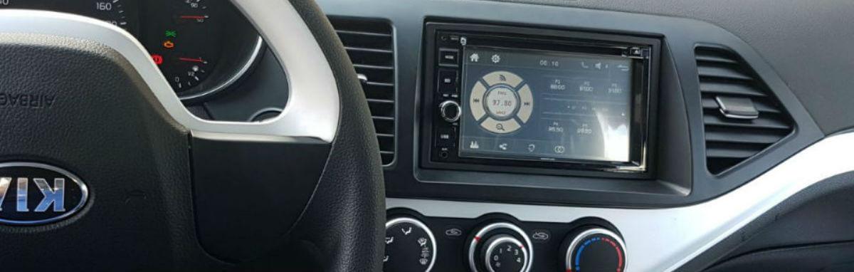 מערכת מולטימדיה לרכב כולל התקנה