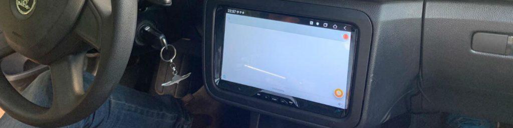 מסך אנדרואיד לרכב 9 אינץ לסקודה פאביה 2013